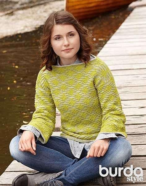 Спортивный пуловер для подростка