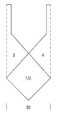 Сумка из квадратов