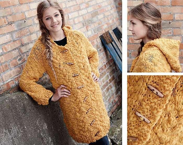 Пальто для девочки-подростка