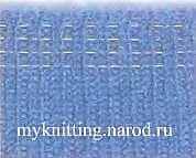 Ввязывание резиновой нити.
