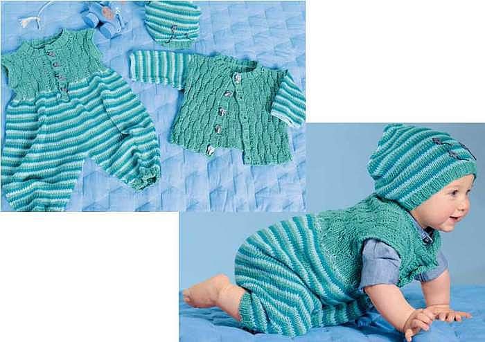 Комплект для новорожденных с комбинезоном