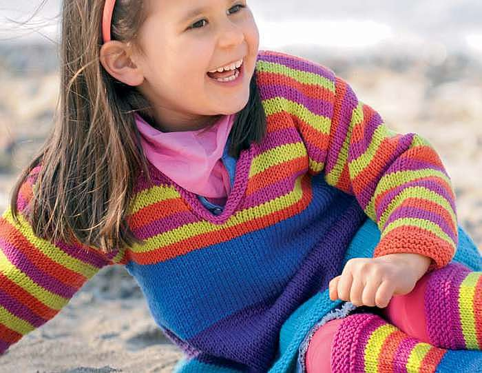 Разноцветная туника