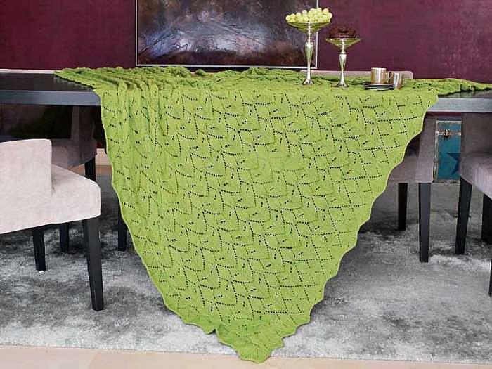 Зеленая скатерть