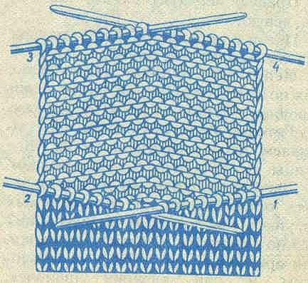 Техника вязания носков