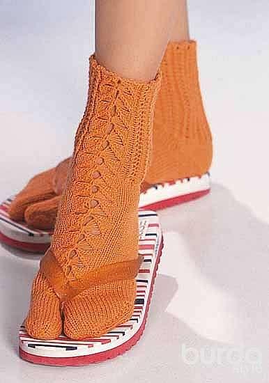Носки с отдельным пальцем
