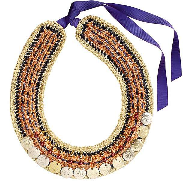 «Золотое» ожерелье