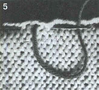 Выполнение трикотажных швов