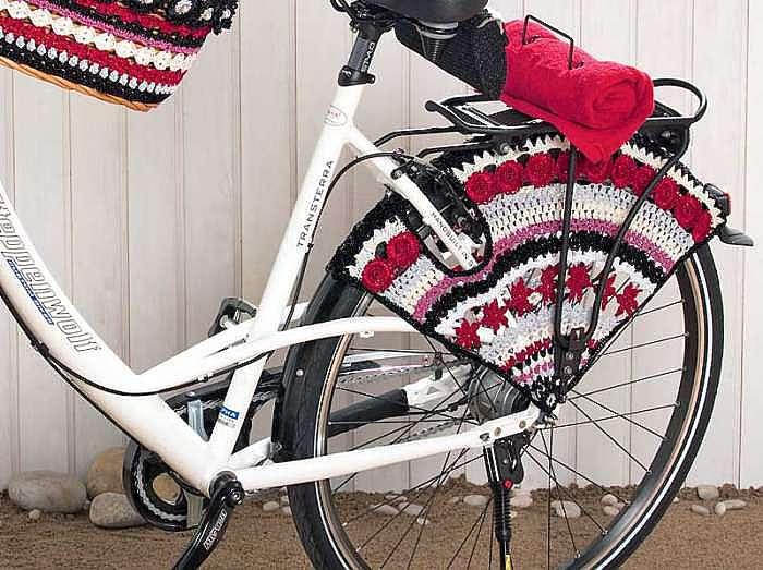 Сеточка для велосипедного колеса