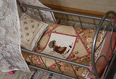 Мастер-класс № 13. Создаем постель для кукол.