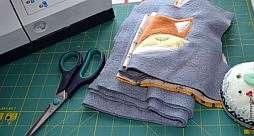 Аппликация на детской одежде - делаем своими руками