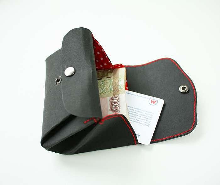 手工制作教程:牛皮纸钱包 - maomao - 我随心动