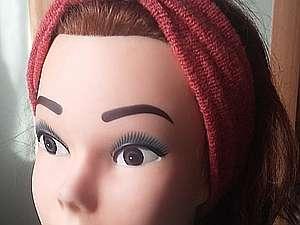 Шьем модную повязку на голову. Чалма-тюрбан своими руками. Часть 1