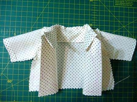 Как сшить рубашку тильда зайцу