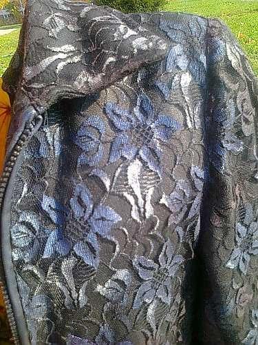 Декор старой куртки своими руками