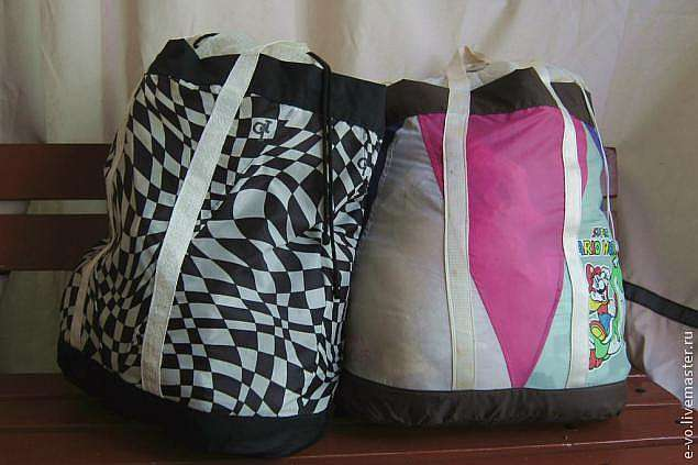 Хозяйственная сумка из зонтика сшить фото 44