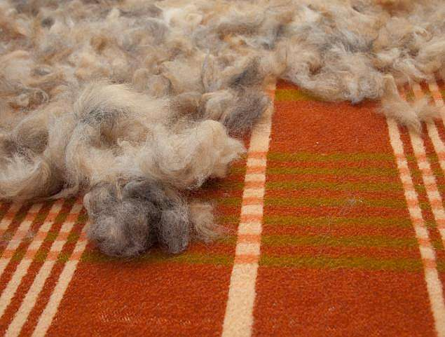 Шерстяные одеяла своими руками