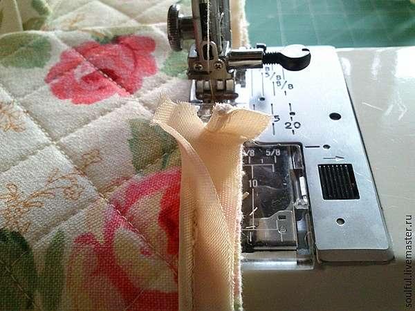 Ещё один вариант изготовления чехла для утюга