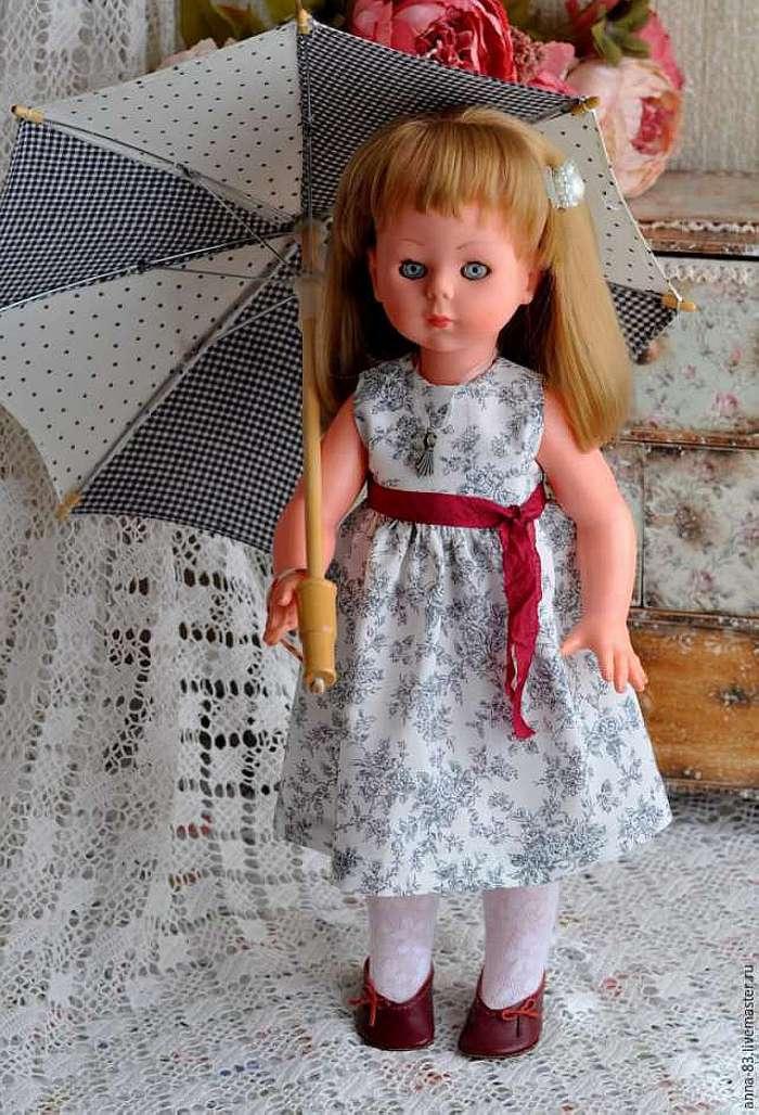Платья для больших кукол своими руками 10