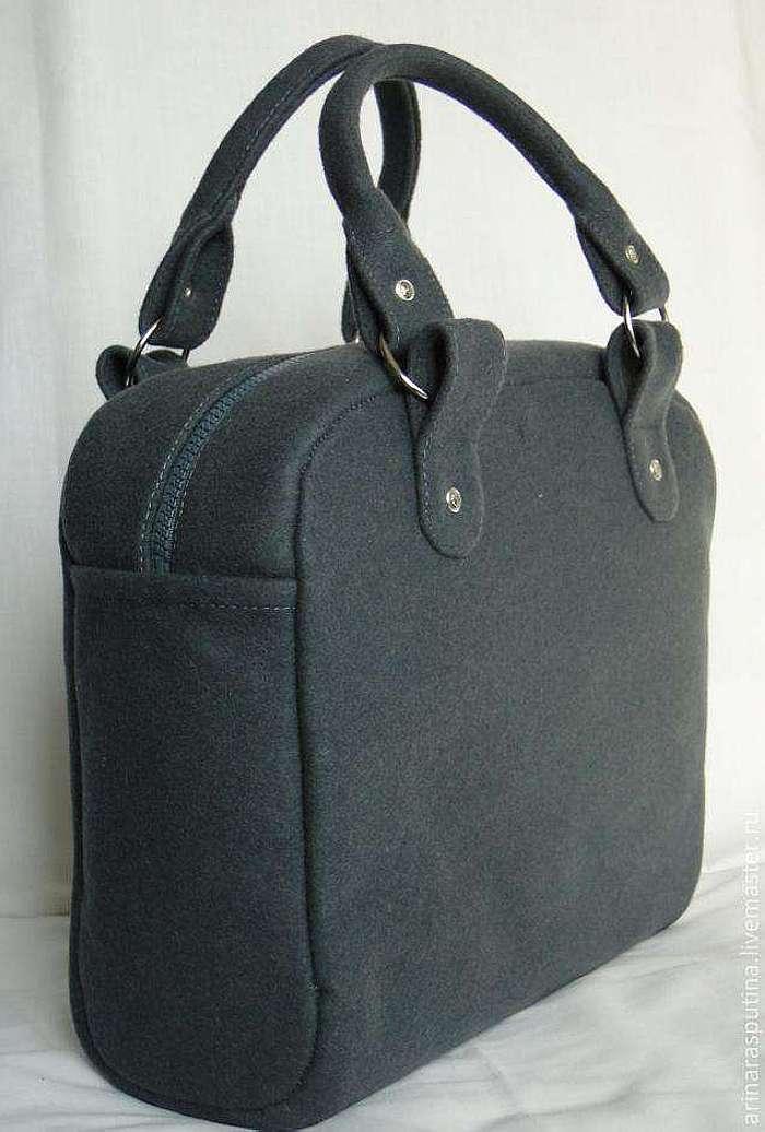 Пошив сумки из кожи своими руками
