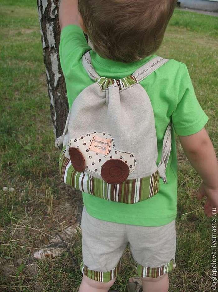 Рюкзачок детский своими руками
