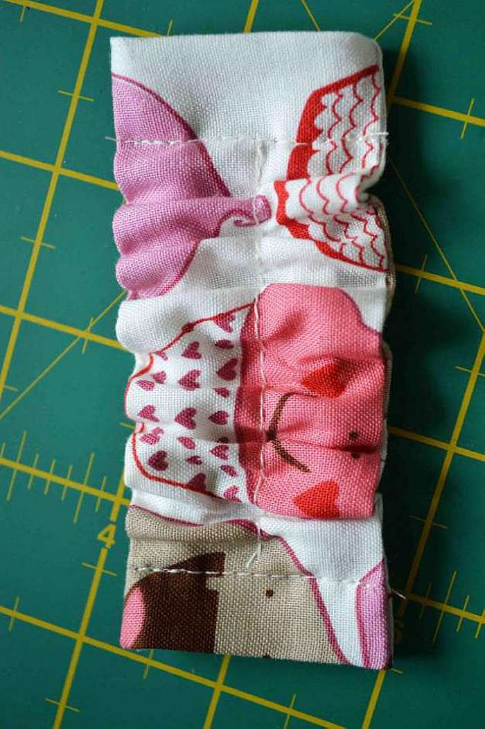 Косынка-повязка для девочки своими руками