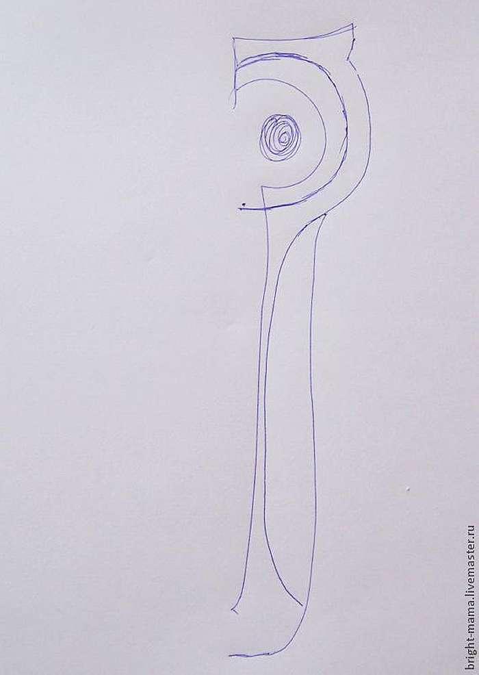 Фетровый чехол 'Сова' для ножниц: делаем сами