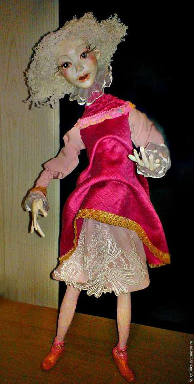 Как сделать кукольное тело на проволочном каркасе