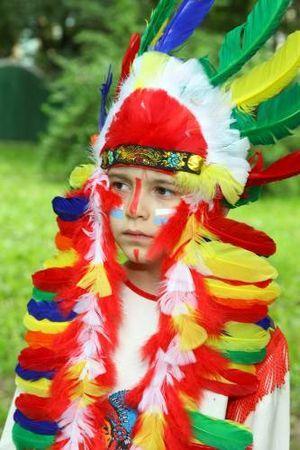 костюм индейца своими руками9