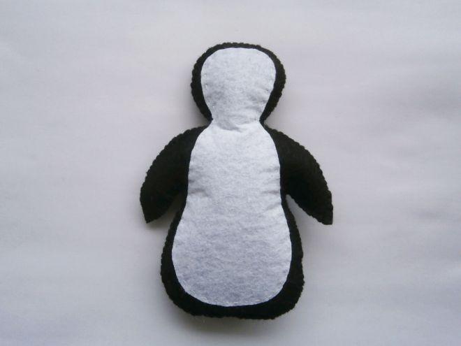 Пингвин из фетра15