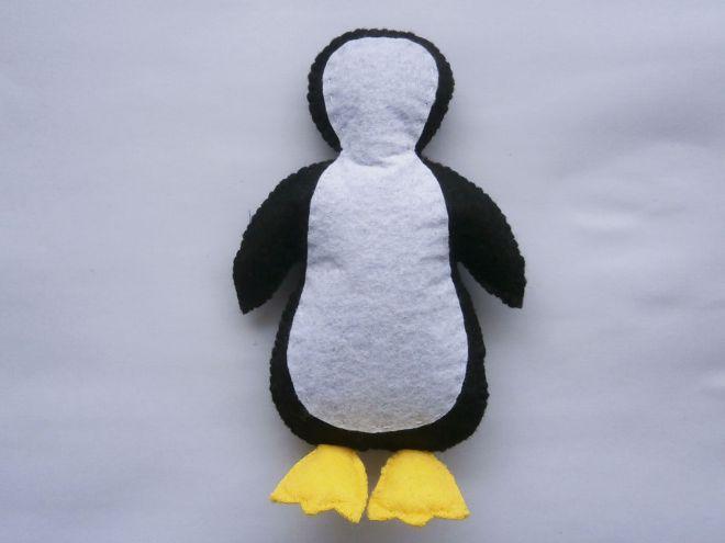 Пингвин из фетра17
