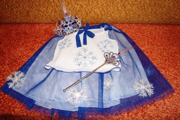 костюм снежинки фото 10