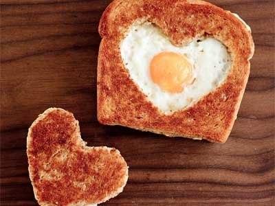 11 романтическая яичница