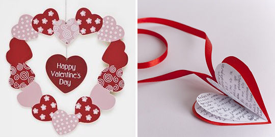 Красивые валентинки своими руками! (идеи и мастер-классы)