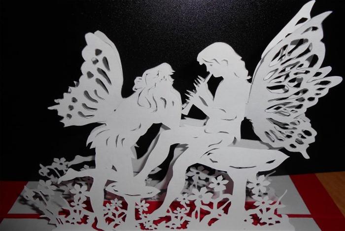 Киригами - феи