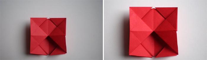 Переворот оригами