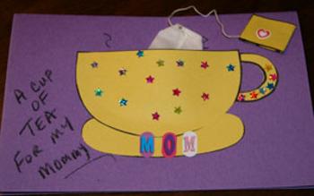 открытка с чашкой