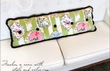 Декоративный диван или кровать Bolster