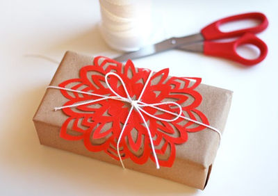 Модернизм How About Orange Snowflake Tutorial