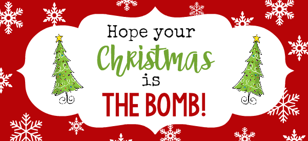 """Рождественские банные бомбы - симпатичный и простой подарок, который ваши друзья и семья будут любить в этот праздничный сезон! """"Width ="""" 601 """"height ="""" 275"""