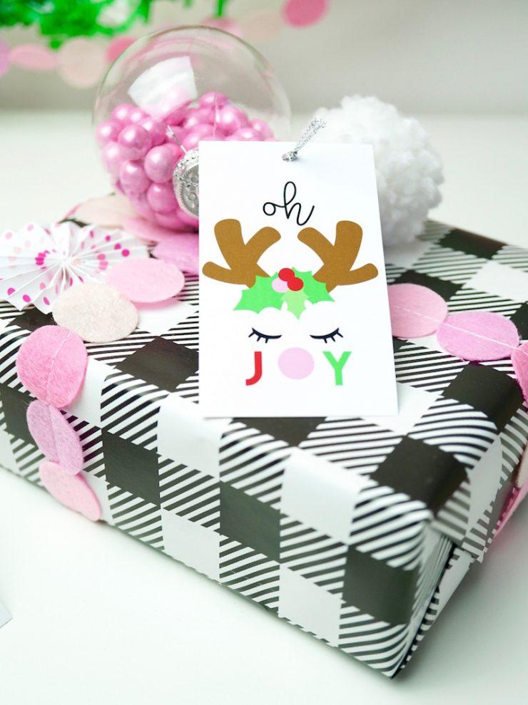 """Candy Ornament Gift Tags - идеальный способ украсить ваши подарки в этот праздничный сезон! """"Width ="""" 740 """"height ="""" 493 """"/> <img class="""