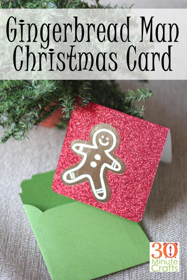 Рождественская открытка для пряников «ширина =« 600 »высота =« 900 »/> <span class=