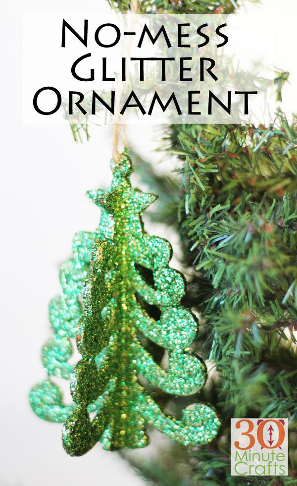 "No Mess Glitter Ornaments ""width ="" 600 ""height ="" 981 ""/> <span class="
