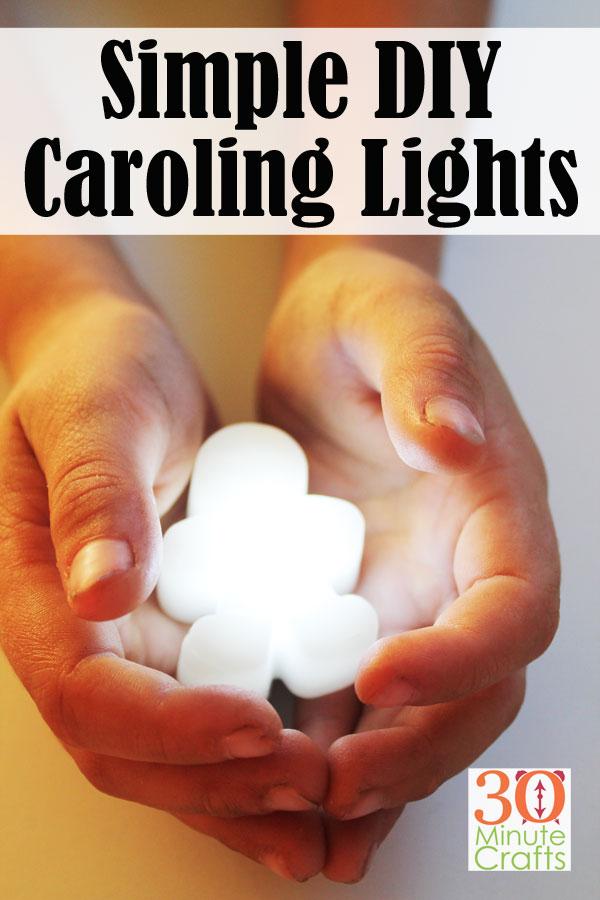 """Простые DIY Caroling Lights - забавная альтернатива свечам или чайным платкам во время праздников. """"Width ="""" 600 """"height ="""" 900 """"/> <span class="""
