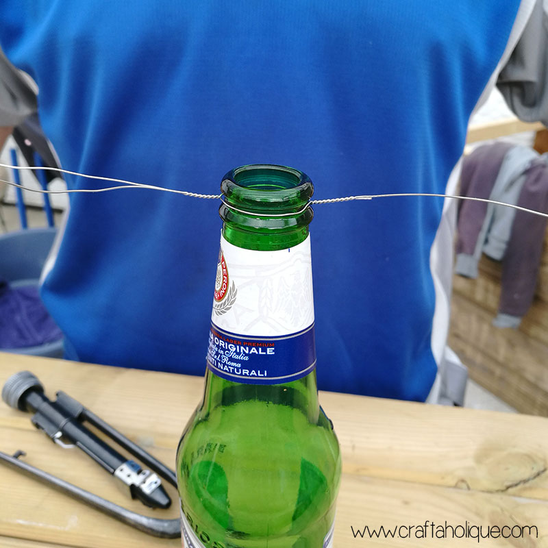 Beer bottle DIY project