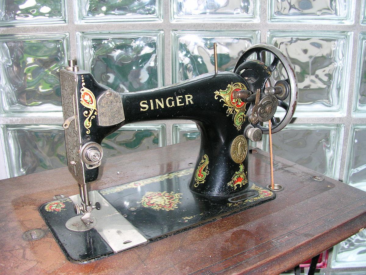 Это швейные машины певца или военное оружие Сингер?