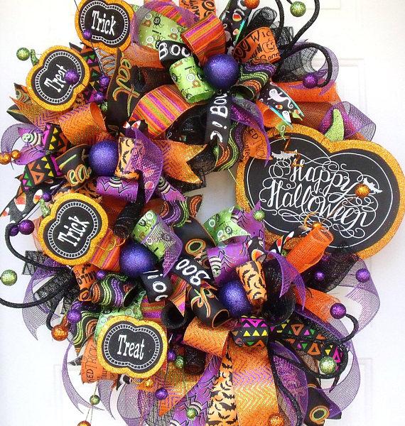 Хэллоуин Вдохновленный ручной витрины