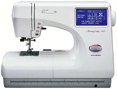 Janome MC9000 Компьютеризированная швейная машина
