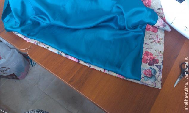 Как сшить подкладку