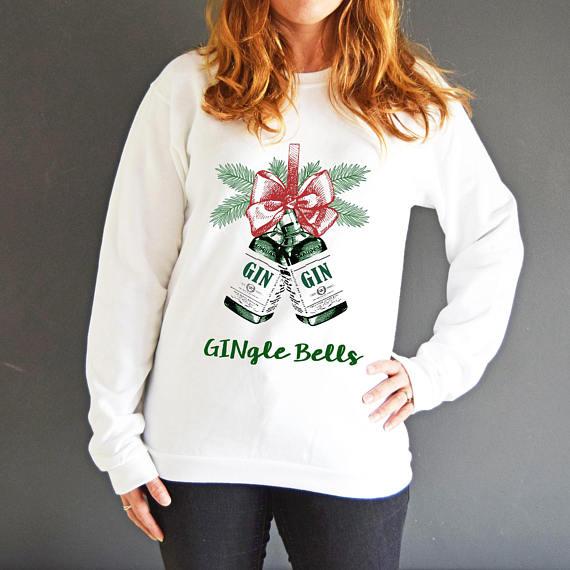 Gingle Bells Рождественский джампер из жизни и лимонов