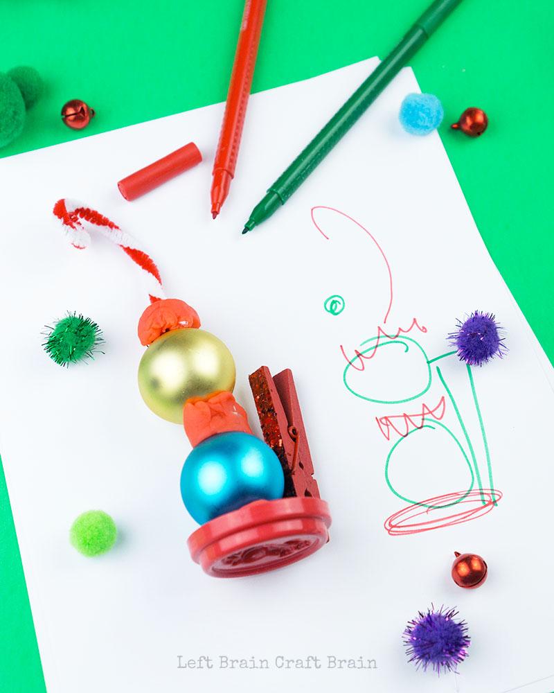 Рождественский ткацкий станок для дошкольников